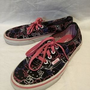Vans Hello Kitty Shoes Size 7
